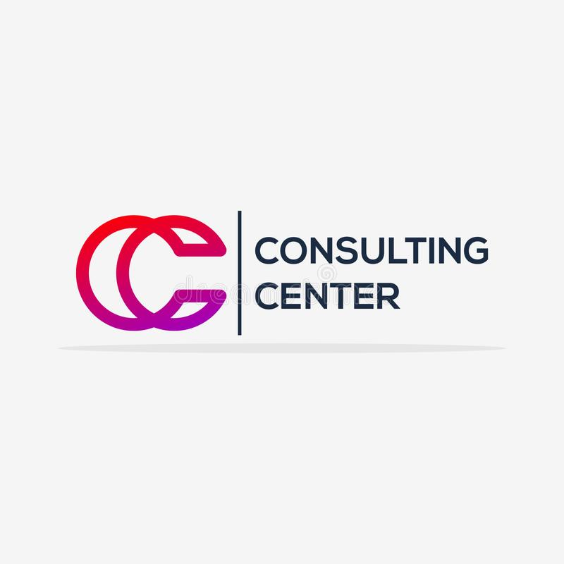 Lyxiga konsulterande Logo Vector Design Template
