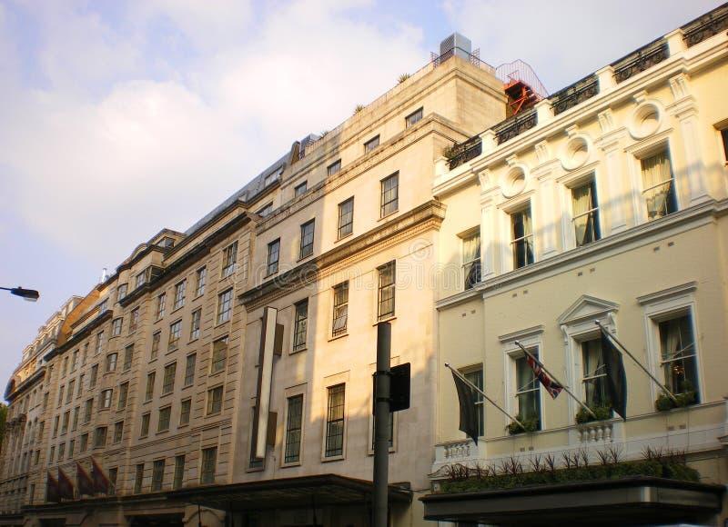 Lyxiga lägenheter London för västra slut fotografering för bildbyråer