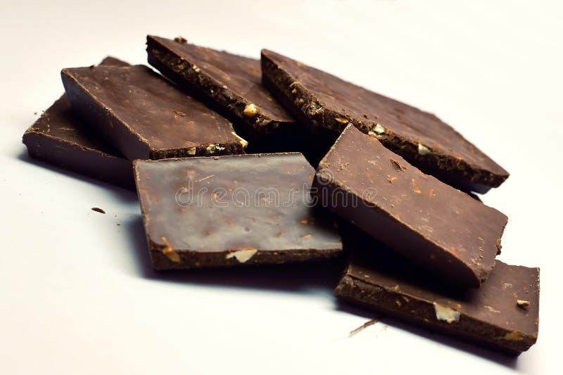 Lyxigt äta för choklad fotografering för bildbyråer