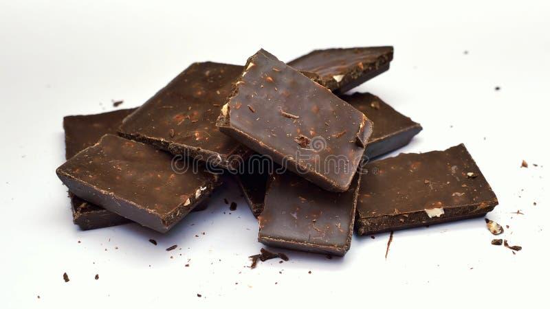 Lyxigt äta för choklad royaltyfri foto