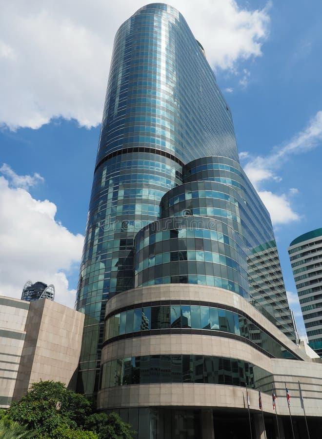 lyxigt hotell interkontinentala Bangkok för 5-stjärna royaltyfri bild
