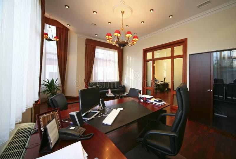 lyxigt kontor arkivfoto