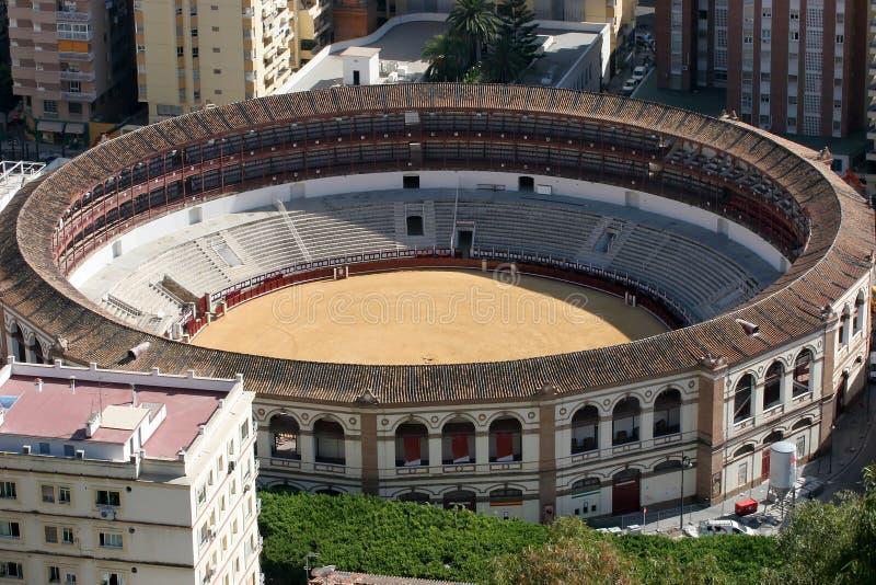 Màlaga-Arenadetail lizenzfreie stockfotografie