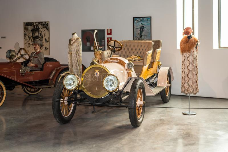 Màlaga-Automobil-Museum in Spanien stockfotos
