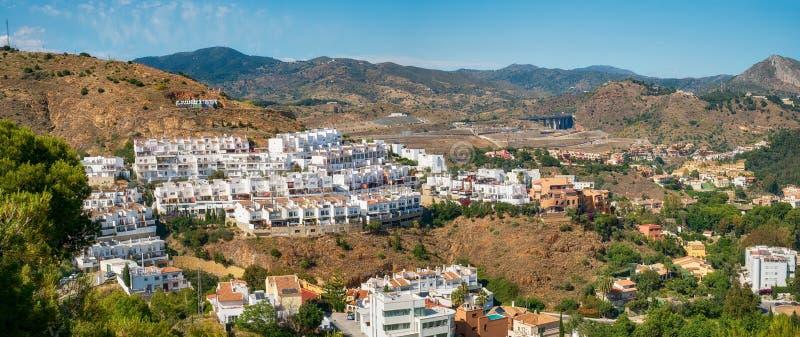 Màlaga-Stadt, La-Manie, Costa del Sol stockbild