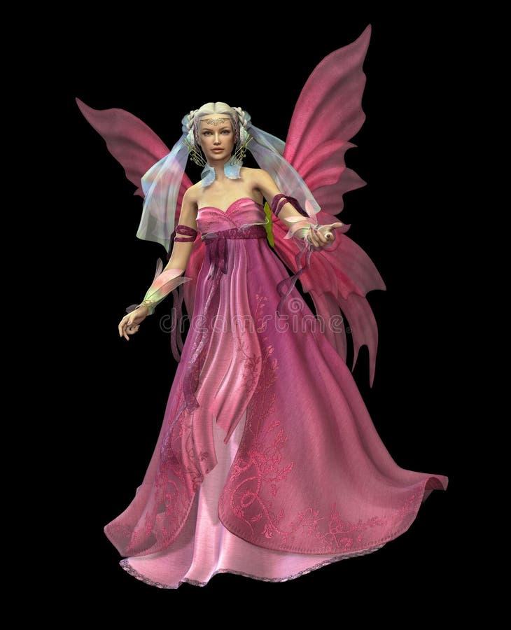 Mágica cor-de-rosa CA ilustração stock