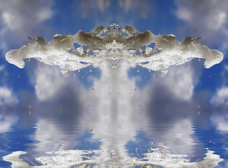 Mágica da água ilustração do vetor