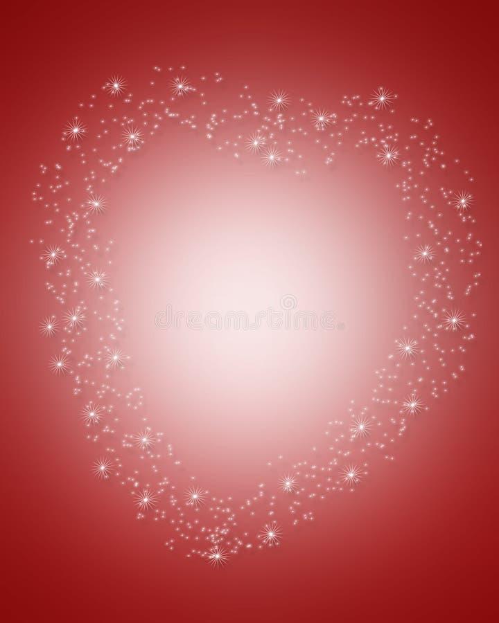 Mágica do dia dos Valentim ilustração do vetor