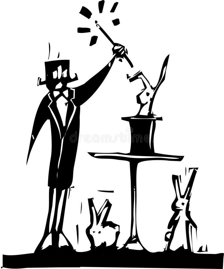 Mágico ilustração do vetor