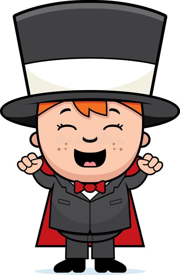 Mágico Excited da criança ilustração stock