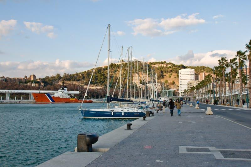Málaga fotografía de archivo libre de regalías