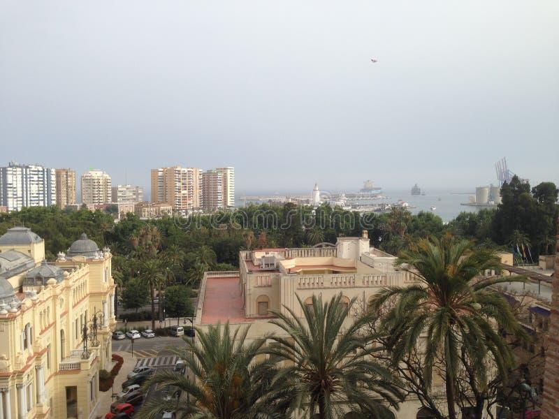 Málaga foto de archivo