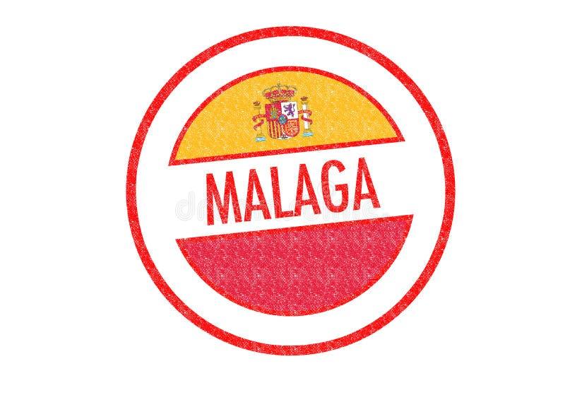 Málaga ilustración del vector