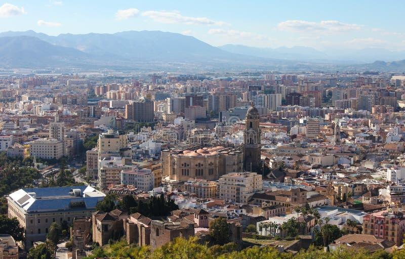 Málaga, Andalucía, España foto de archivo libre de regalías