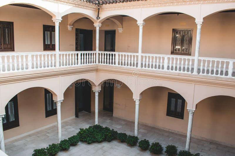 Málaga España tiró durante un studytrip fotografía de archivo