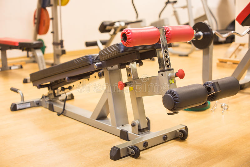 Máquina abdominal do exercício foto de stock royalty free