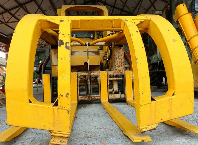 Máquina agrícola gigante imagen de archivo libre de regalías