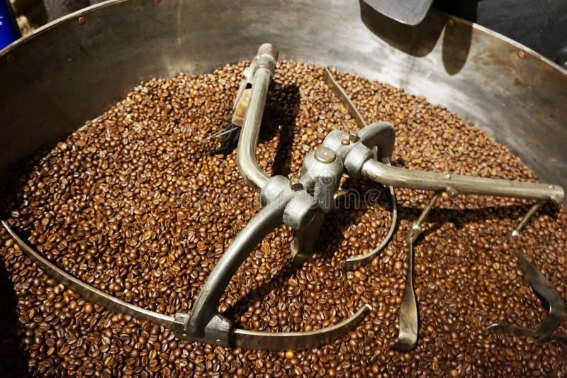 Máquina asada del café imagen de archivo libre de regalías