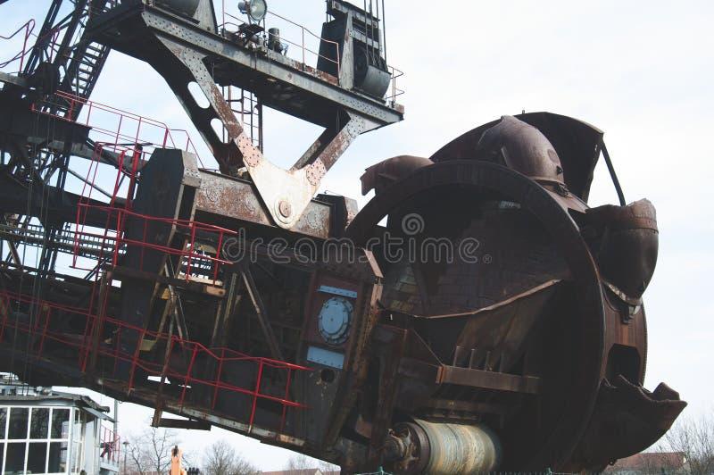 A máquina carbonosa enorme foto de stock royalty free