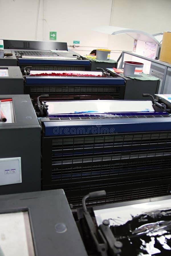 Máquina compensada y color foto de archivo