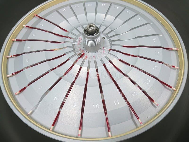 Máquina da análise de sangue foto de stock royalty free