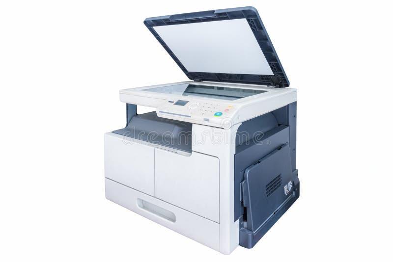 Máquina da cópia da cópia isolada imagem de stock