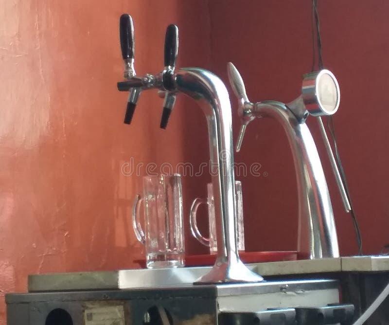 Máquina da cerveja de esboço foto de stock royalty free
