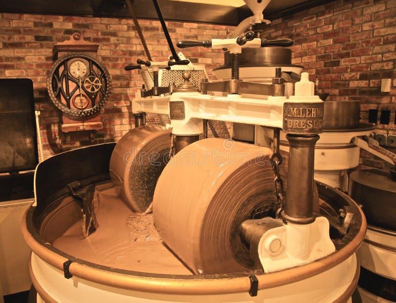 Máquina da fatura de chocolate fotografia de stock royalty free