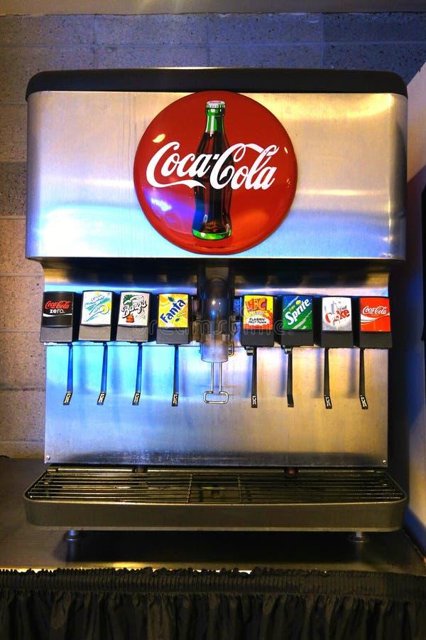 Máquina da fonte de soda foto de stock royalty free