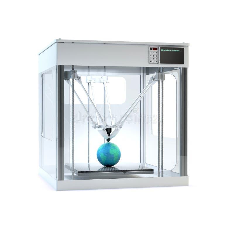 máquina da impressora 3D fotos de stock