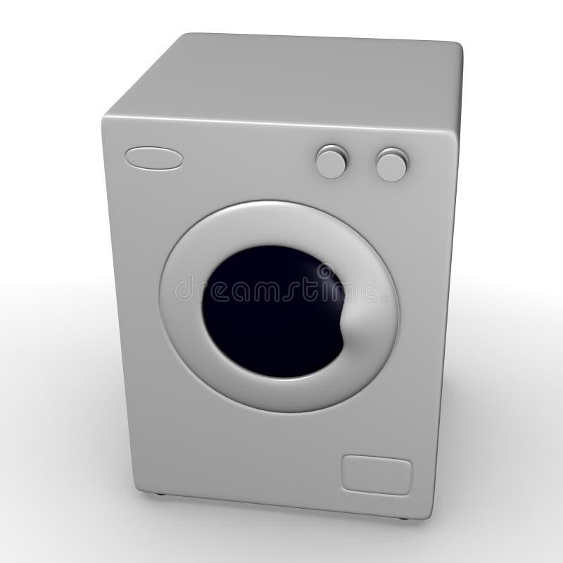 Download Máquina da lavagem ilustração stock. Ilustração de cozinha - 12806145