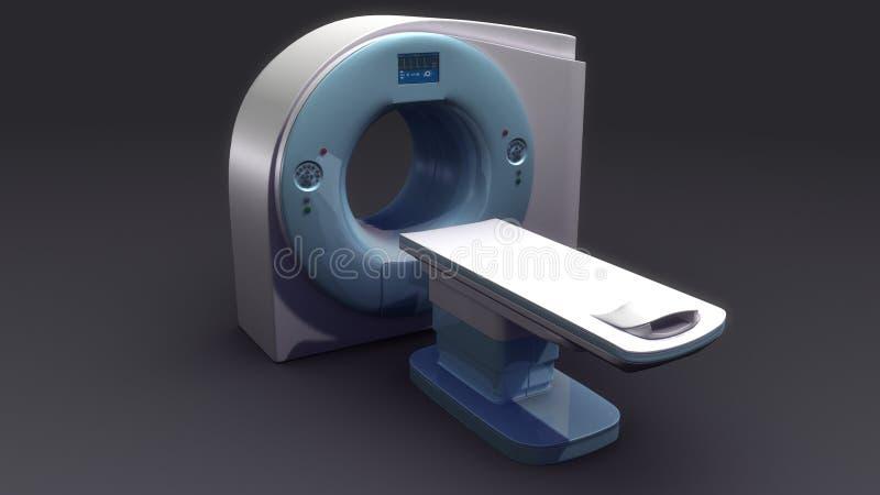 Máquina da varredura do CT ilustração do vetor