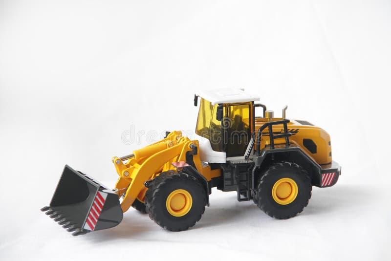 Máquina das obras, ferramenta de escavação imagem de stock