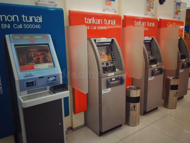 Máquina de caixa automático foto de stock royalty free