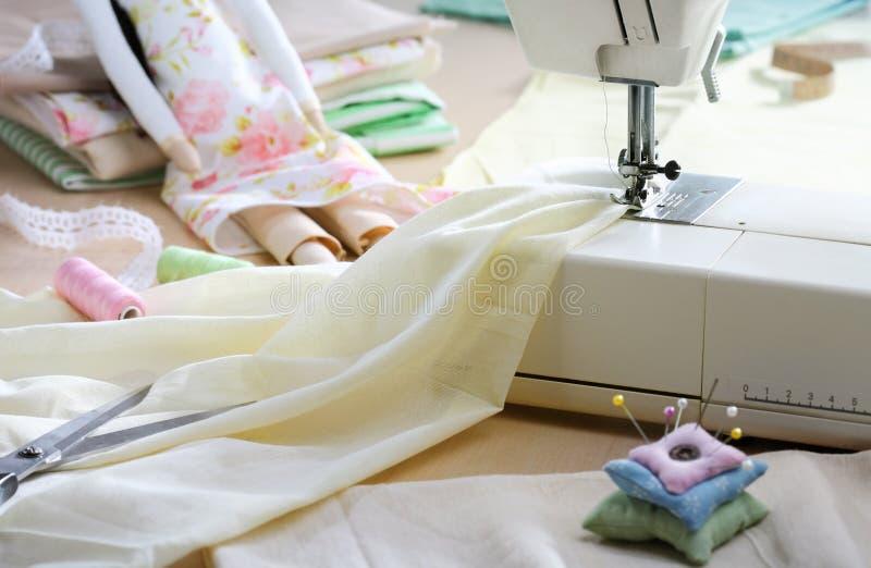 Máquina de coser foto de archivo
