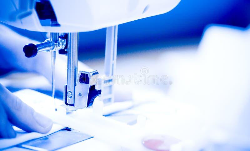 Máquina de coser. fotografía de archivo libre de regalías