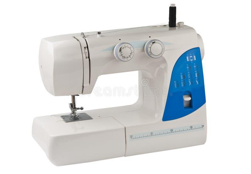 Máquina de coser aislada fotografía de archivo