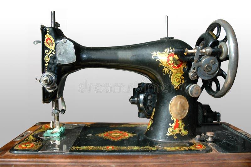 Máquina de coser antigua fotografía de archivo