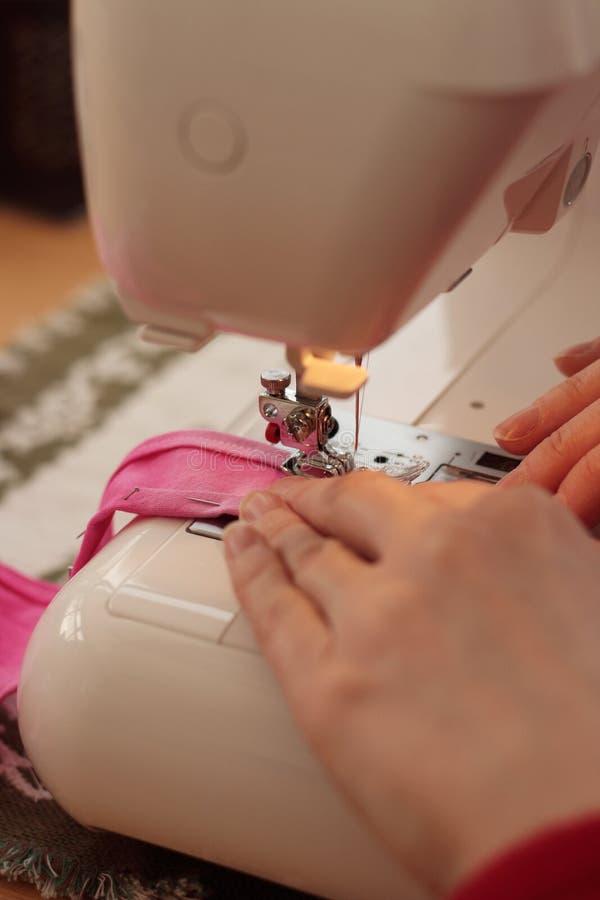 Máquina de costura imagens de stock royalty free