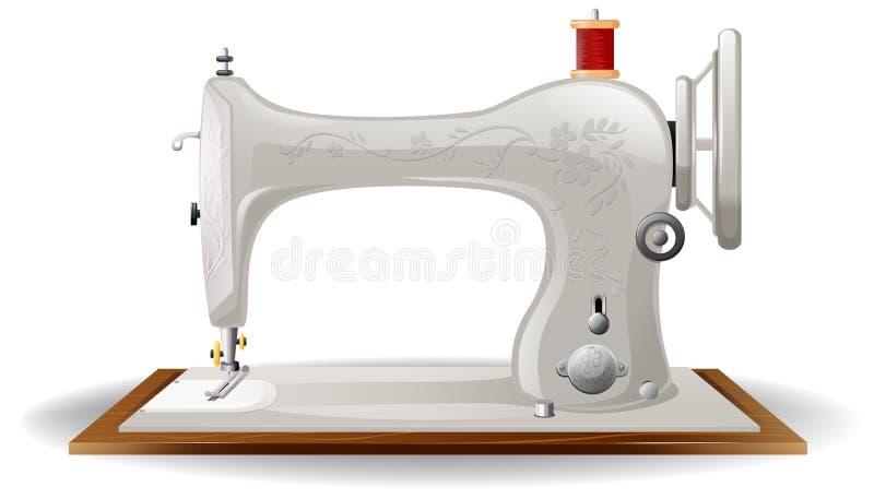 Máquina de costura ilustração royalty free
