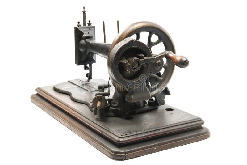 Máquina de costura clássica do manual do estilo do vintage foto de stock royalty free