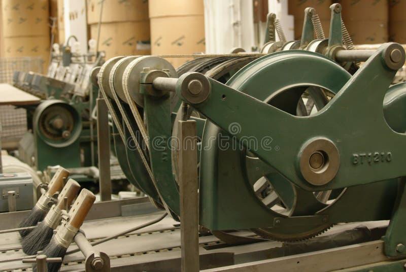 Máquina de costura vieja, vista lateral fotografía de archivo libre de regalías