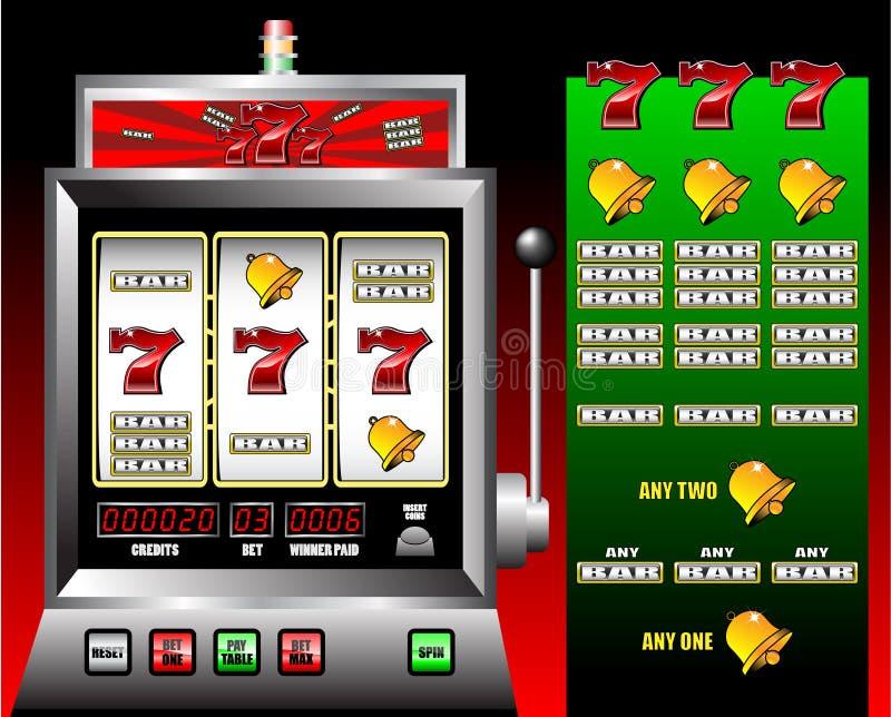 Máquina de entalhe do casino