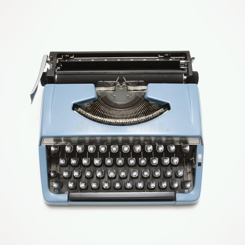 Máquina de escrever. fotografia de stock