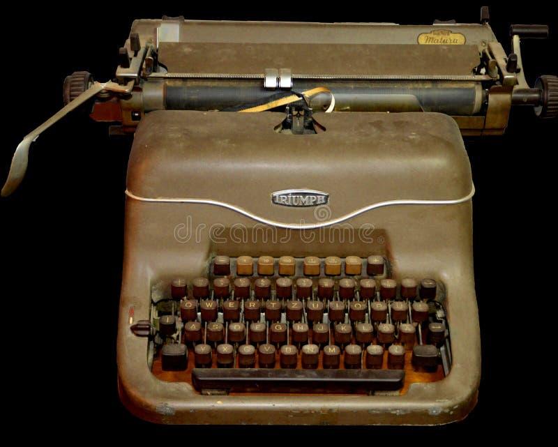 Máquina de escrever de Triumph fotografia de stock royalty free