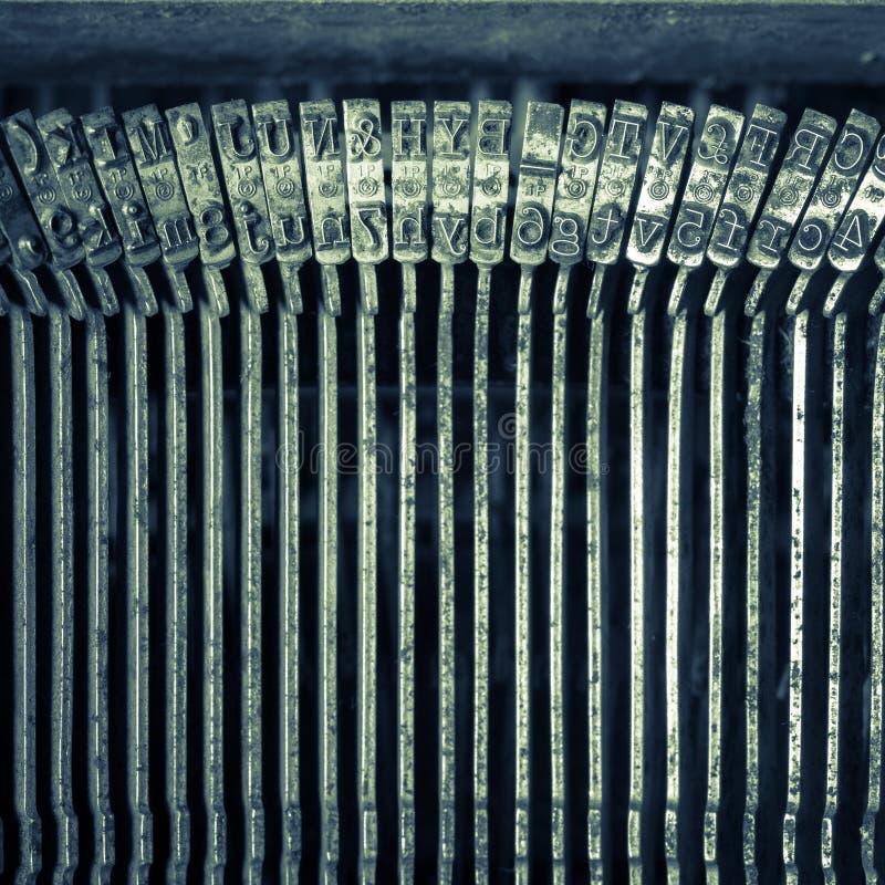 Máquina de escrever velha imagens de stock