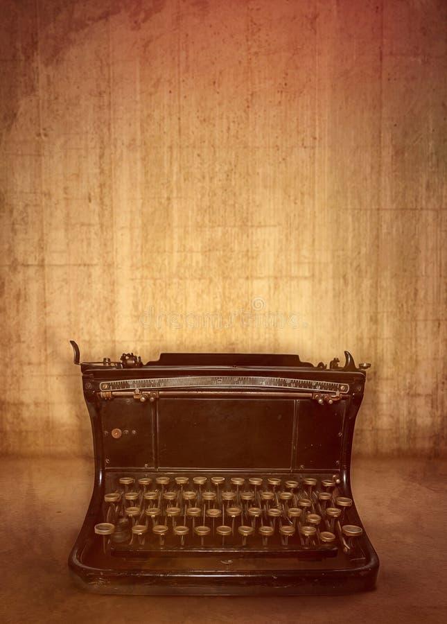Máquina de escrever velha fotos de stock