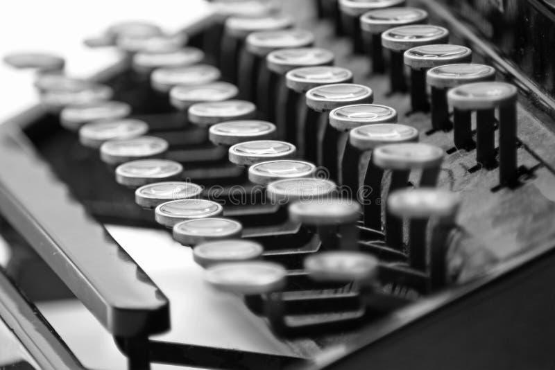Máquina de escribir 2 del vintage imágenes de archivo libres de regalías