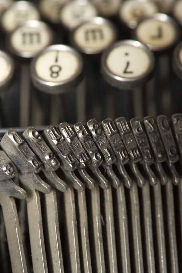 máquina de escribir Mundano-sabia imagen de archivo libre de regalías