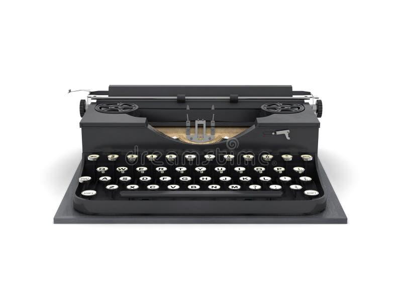 Máquina de escribir retra libre illustration